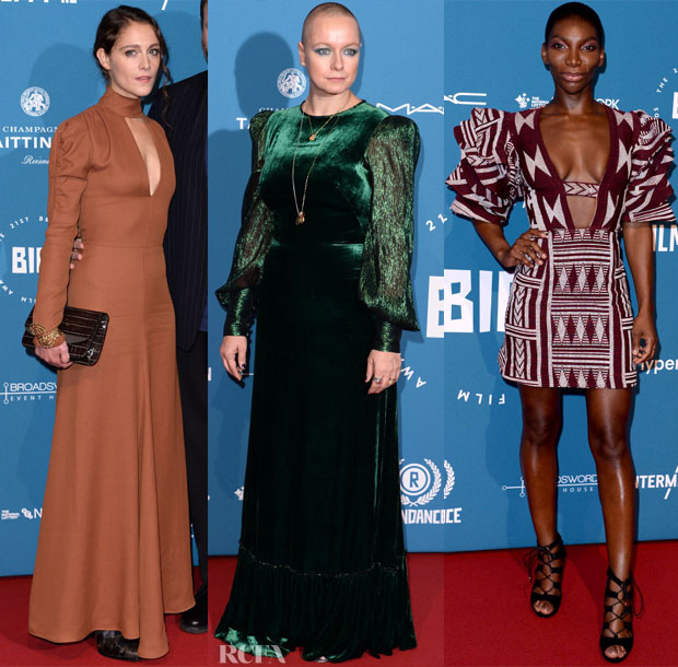 Fashion Blogger Catherine Kallon feature the 2018 British Independent Film Awards