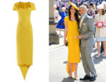 Amal Clooney's Stella McCartney Amal Tie-Back Crepe Dress