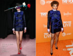 Fashion Blogger Catherine Kallon feature the Amandla Stenberg In Viktor & Rolf - TrevorLIVE LA 2018
