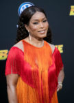 Fashion Blogger Catherine Kallon feature Angela Bassett In Alberta Ferretti Limited Edition - 'Bumblebee' LA Premiere