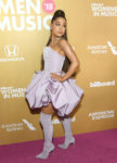 Fashion Blogger Catherine Kallon feature Ariana Grande In Christian Siriano - Billboard Women In Music 2018