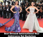 Fashion Blogger Catherine Kallon features Best Dressed International Star - Aishwarya Rai Bachchan