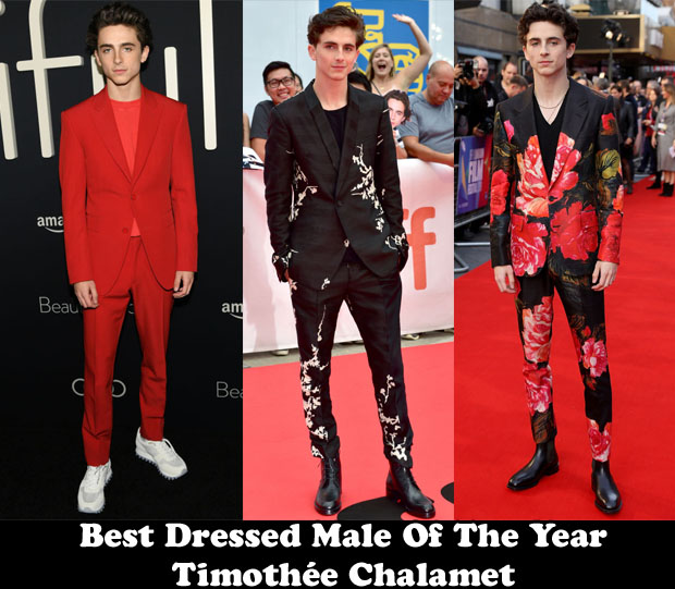 Fashion Blogger Catherine Kallon features Best Dressed Male Of The Year – Timothée Chalamet