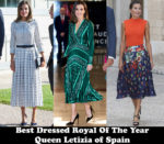 Fashion Blogger Catherine Kallon Features Best Dressed Royal Of The Year - Queen Letizia of Spain
