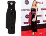 Blake Lively's Brandon Maxwell Strapless Sequin Dress