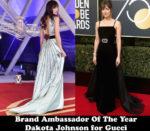 Fashion Blogger Catherine Kallon features Brand Ambassador Of The Year – Dakota Johnson for Gucci