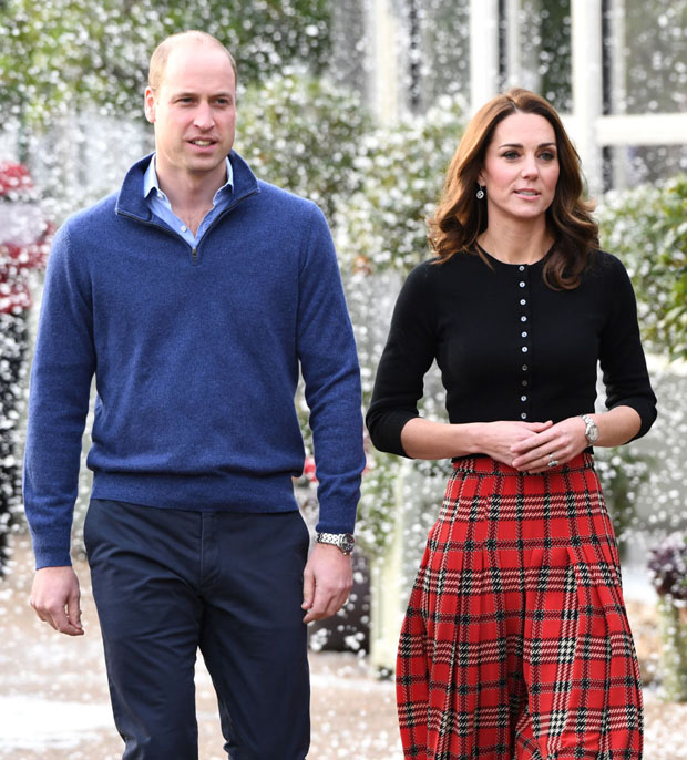 Fashion Blogger Catherine Kallon feature the Kate Middleton, Catherine, Duchess of Cambridge In Emilia Wickstead tartan skirt
