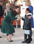 Fashion Blogger Catherine Kallon features Catherine, Duchess of Cambridge In L.K. Bennett - Evelina London Children's Hospital Visit