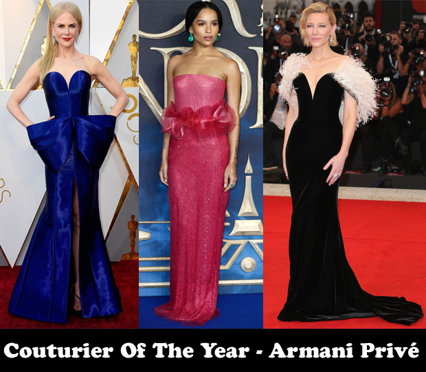 Couturier of the Year – Armani Privé