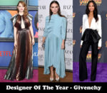 Designer Of The Year - Givenchy