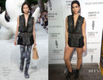 Fashion Blogger Catherine Kallon features Dua Lipa In Louis Vuitton - Streets Of London x Ellie Goulding Charity Gig