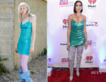 Fashion Blogger Catherine Kallon features Dua Lipa In Natasha Zinko - 103.5 KISS FM's iHeartRadio Jingle Ball 2018