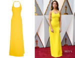 Eiza Gonzalez's Ralph Lauren Montaine Evening Dress