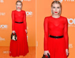 Emma Roberts In Christian Dior - The Trevor Project's 2018 TrevorLIVE LA Gala