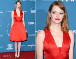 Emma Stone In Louis Vuitton - 2018 British Independent Film Awards