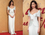 Fashion Blogger Catherine Kallon feature Gemma Chan In Miu Miu - 'Mary Queen Of Scots' London Premiere