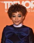 Fashion Blogger Catherine Kallon feature the Amandla Stenberg In Viktor & Rolf - The Trevor Project's 2018 TrevorLIVE LA Gala