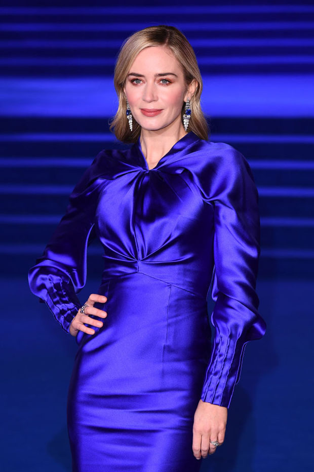 Fashion Blogger Catherine Kallon feature Emily Blunt In Schiaparelli Haute Couture - 'Mary Poppins Returns' London Premiere