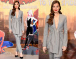 Fashion Blogger Catherine Kallon feature the Hailee Steinfeld In Acler 'Spider-Man Into The Spider-Verse' LA Photocall