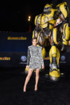 Fashion Blogger Catherine Kallon feature Hailee Steinfeld In Balmain - 'Bumblebee' LA Premiere