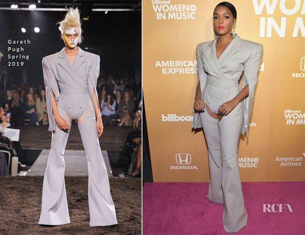 Janelle Monae In Gareth Pugh - Billboard Women In Music 2018