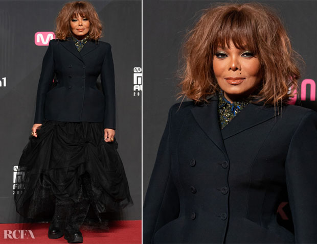 Fashion Blogger Catherine Kallon Janet Jackson In Christian Dior - 2018 Mnet Asian Music Awards