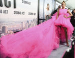 Fashion Blogger Catherine Kallon feature Jennifer Lopez In Giambattista Valli Haute Couture - 'Second Act' New York Premiere