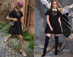Fashion Blogger Catherine Kallon feature Jennifer Lopez In Valentino - 'Second Act' LA Photocall