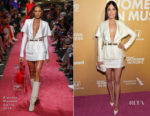 Fashion Blogger Catherine Kallon feature theKacey Musgraves In Brandon Maxwell - Billboard Women In Music 2018
