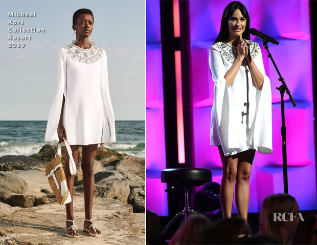 Fashion Blogger Catherine Kallon feature the Kacey Musgraves In Michael Kors Collection - Billboard Women In Music 2018