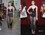 Fashion Blogger Catherine Kallon feature the Karen Gillan In David Koma 'The Party's Just Beginning' LA Screening