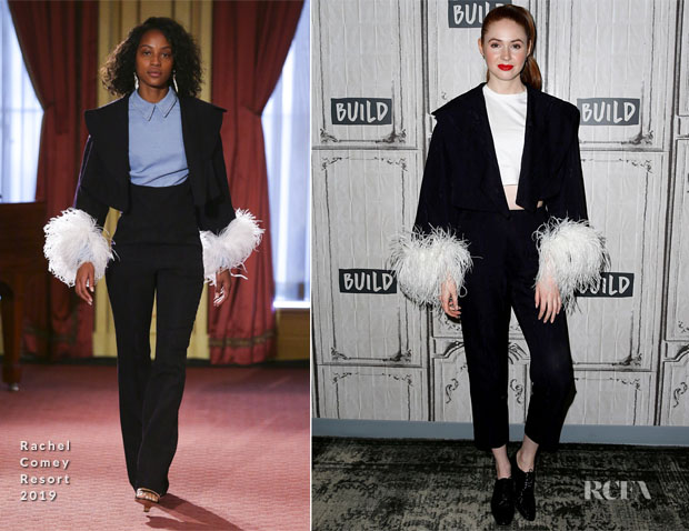 Fashion Blogger Catherine Kallon Features Karen Gillan In Rachel Comey - Build Series