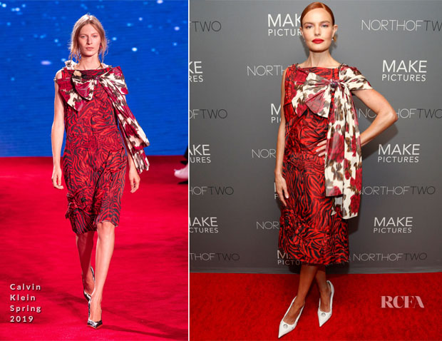 Fashion Blogger Catherine Kallon feature Kate Bosworth In Proenza Schouler, Gabriela Hearst & Calvin Klein - 'Nona' Promotion & New York Premiere