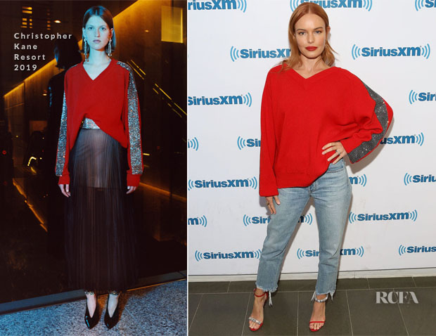 Fashion Blogger Catherine Kallon feature the Kate Bosworth In Christopher Kane - Bulid Series Nona
