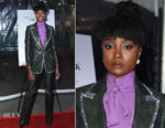 Fashion Blogger Catherine Kallon feature the KiKi Layne In Gucci - 'If Beale Street Could Talk' LA Screening