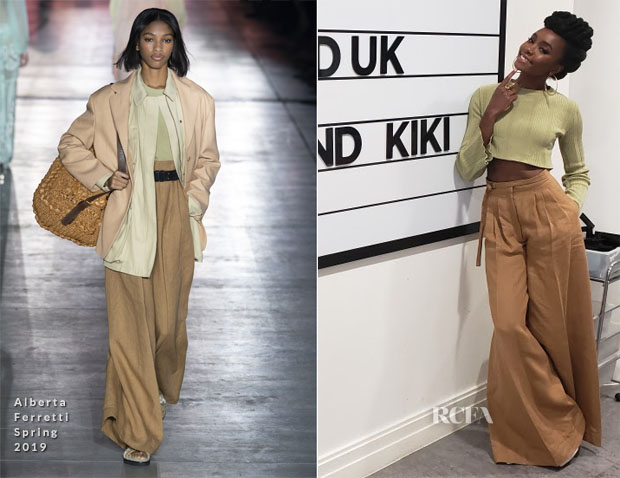 Fashion Blogger Catherine Kallon features Kiki Layne In Alberta Ferretti - Buzzfeed UK