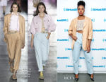 Fashion Blogger Catherine Kallon features Kiki Layne In Alberta Ferretti - SiriusXM Studios