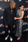Kim Kardashian In Atelier Versace - 'The Cher Show' Broadway Opening Night