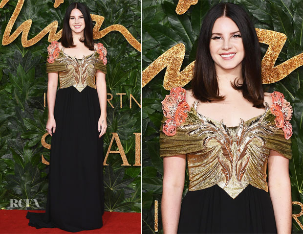 Lana Del Rey Red Carpet Fashion Awards