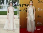 Fashion Blogger Catherine Kallon feature the Margot Robbie in Chanel Haute Couture - 'Mary Queen Of Scots' New York Premiere