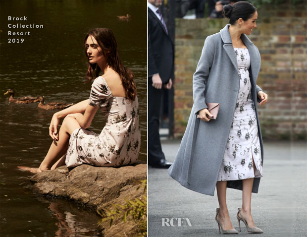 Fashion Blogger Catherine Kallon features Meghan, Duchess of Sussex In Brock Collection - Brinsworth House Visit