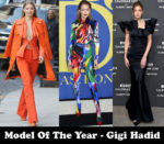 Model Of The Year - Gigi Hadid
