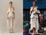 Fashion Blogger Catherine Kallon feature the Naomi Campbell In Alexander McQueen - Global Citizen Festival: Mandela 100