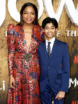 Fashion Blogger Catherine Kallon feature the Naomie Harris In Dundas - 'Mowgli Legend Of The Jungle' Special Screening