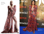 Fashion Blogger Catherine Kallon feature the Naomie Harris In Dundas - 'Mowgli: Legend Of The Jungle' Special Screening
