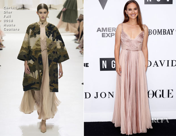 Fashion Blogger Catherine Kallon feature the Natalie Portman In Christian Dior Haute Couture National Gallery of Victoria Gala