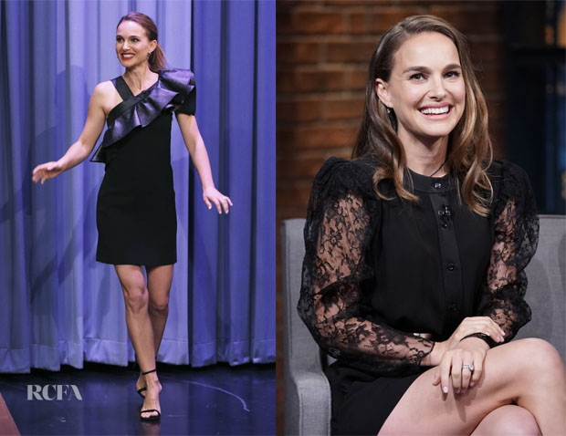 Fashion Blogger Catherine Kallon features Natalie Portman's Three Givenchy Looks In Two Days For 'Vox Lux'