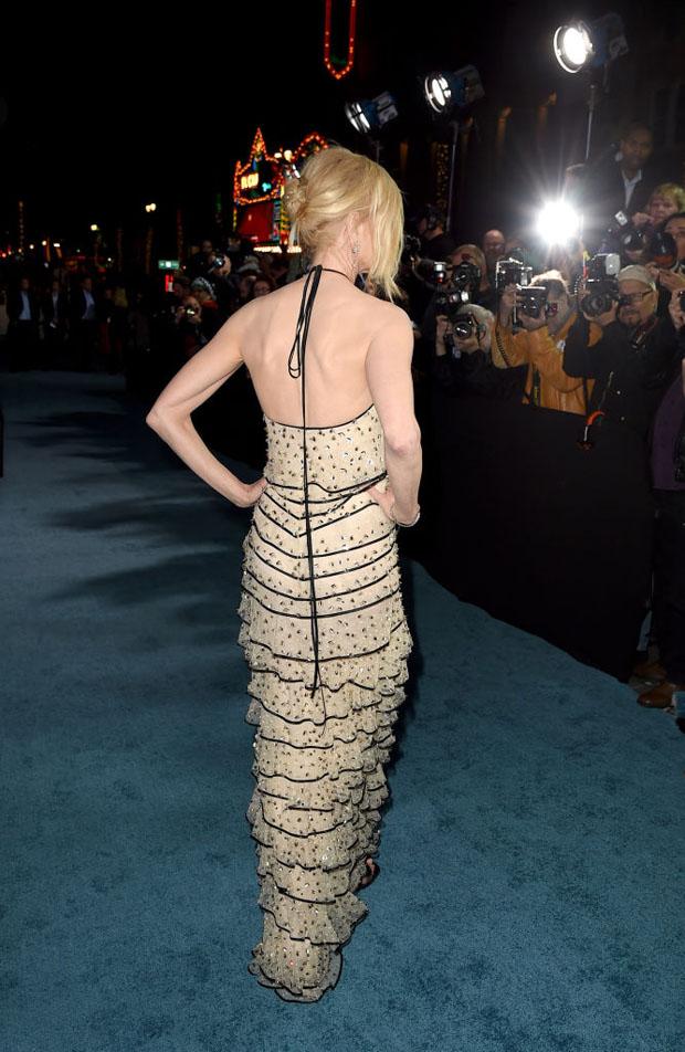 Fashion Blogger Catherine Kallon feature Nicole Kidman In Armani Prive - 'Aquaman' LA Premiere