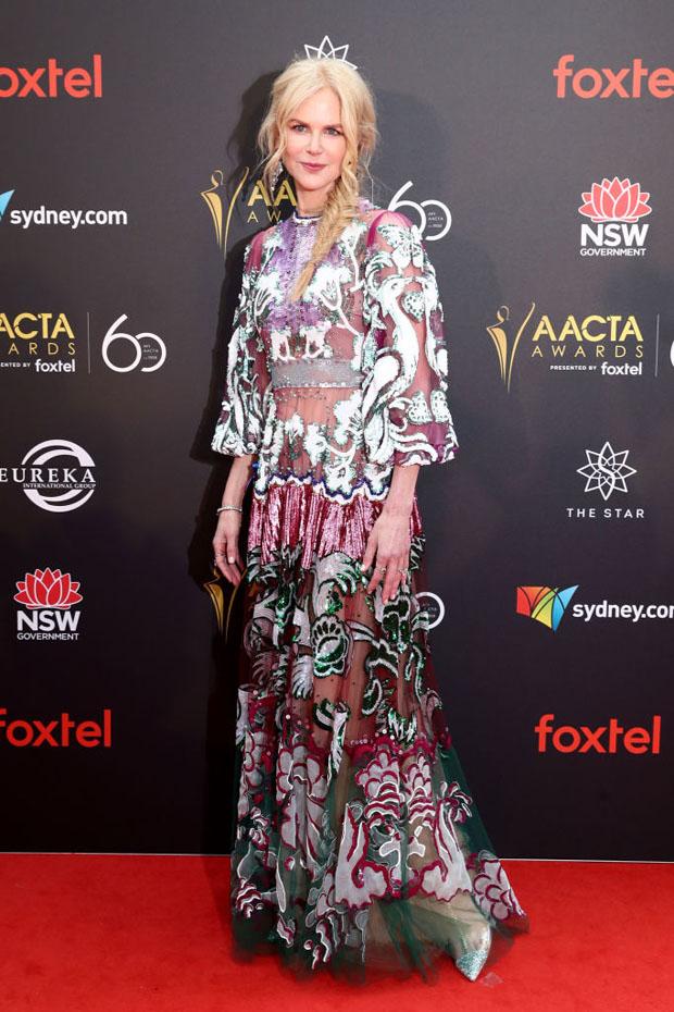 Fashion Blogger Catherine Kallon feature the Nicole Kidman In Valentino - 2018 AACTA AwardsNicole Kidman In Valentino - 2018 AACTA Awards