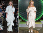 Fashion Blogger Catherine Kallon feature Paloma Faith In Simone Rocha - Vanity Fair x Bloomberg Climate Change Gala Dinner